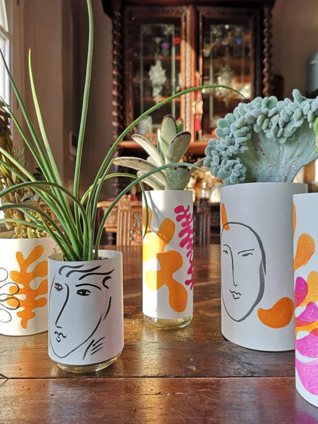 Cachepot Matisse fai da te